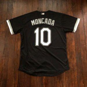 Majestic Shirts - Yoan Moncada Chicago White Sox